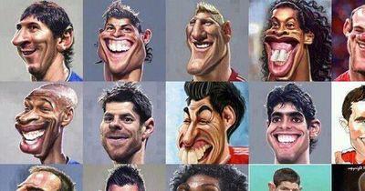 Die witzigsten Fußballer-Karikaturen!