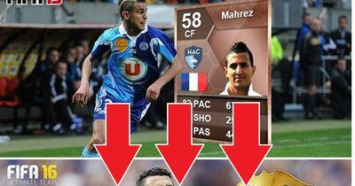 Die krasse FIFA-Transformation von Riyad Mahrez!