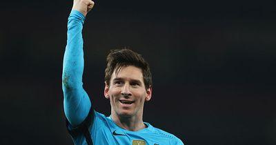 Das geschieht bei Weltfußballer Lionel Messi!