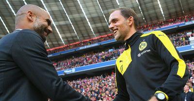 Das sagen Tuchel und Guardiola vor dem Spitzenspiel!