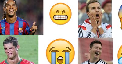 Fußballer als Smileys!
