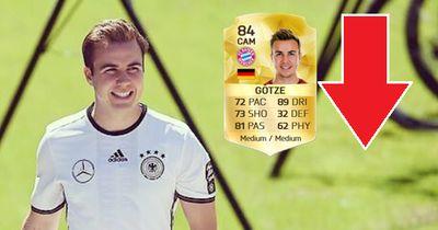 Die Entwicklung von Mario Götze in FIFA!