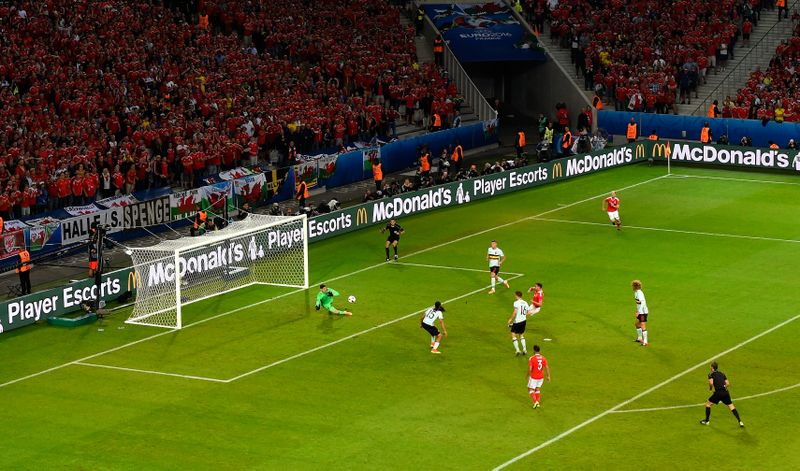 Belgien Wales Tore