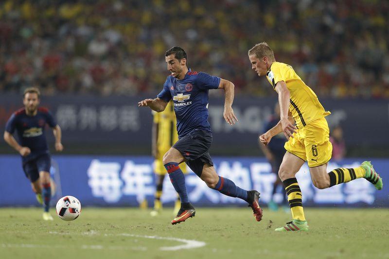 Ausgerechnet er empfohl Mkhitaryan den Wechsel zu ManU!