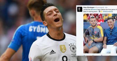 Social Media Fail! Gündogan und Özil unterläuft ein Riesenpatzer!