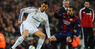 Alba macht Ronaldo klein!