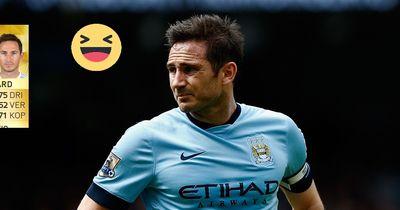 So lustig veräppelt Lampard seine FIFA Werte!