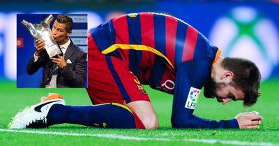 Pique stichelt gegen Ronaldo und wird von CR7 komplett zerstört!