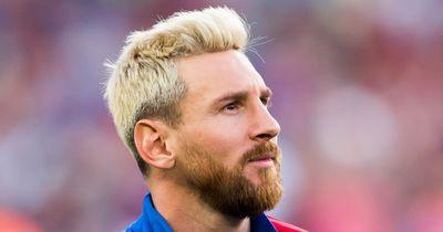 Messi: Darum habe ich mir die Haare blond gefärbt