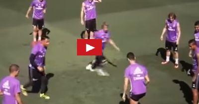 Cristiano Ronaldo demütigt im Training seinen Kollegen