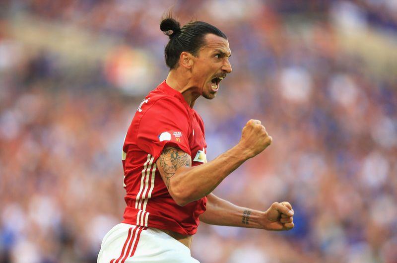 Am ersten Tag: So überraschte Zlatan alle Stars bei United!
