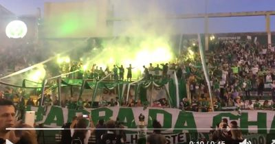 Emotionaler Abschied - So verabschiedeten die Chapecoense-Fans ihre verstorbenen Helden im Stadion