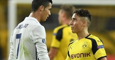 Mor bekommt Ronaldo-Trikot nach CL-Spiel