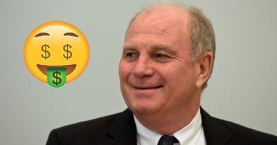 """FCB-Präsident Hoeneß: """"Bayern könnte 300 Millionen Euro an einem Tag verdienen, wenn..."""""""