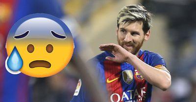 Messi-Schock beim Barca-Spiel - Nach 25 Minuten passiert plötzlich das!
