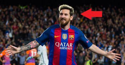 Messi mit neuem Look!