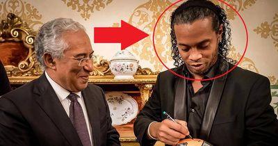 Krasser neuer Look - So habt ihr Ronaldinho noch nie gesehen!