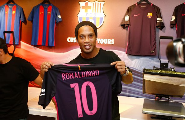 Ronaldinho schreibt an sein achtjähriges Ich