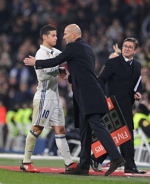 Nach Streit mit Zidane: James will zu Manchester United