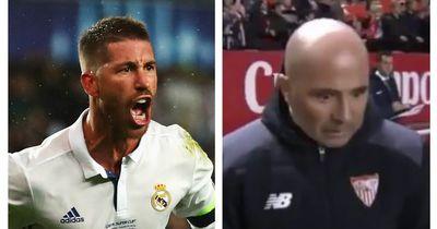 Das sagte Sergio Ramos nach Reals Niederlage zu Sevilla-Coach Sampaoli