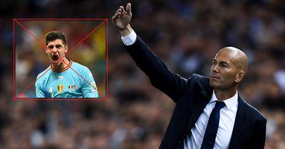 """Zidane fordert von Real-Präsident: """"Vergiss Courtois, ich will ihn!"""""""