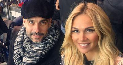 Date Night? Mit diesem heißen Supermodel ging Pep Guardiola ins Stadion