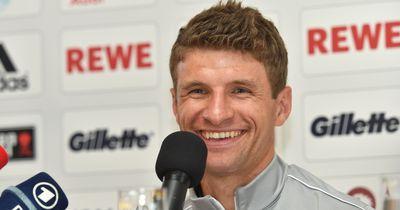 Müller verrät Geheimnis hinter seinem Platz in der Kabine