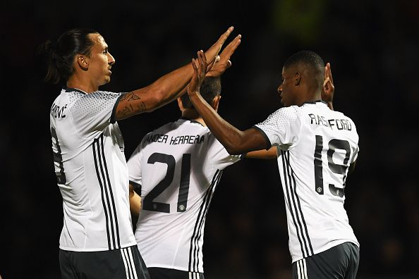 Rashford lobt seinen Teamkollegen Ibrahimovic