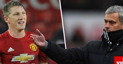 Schweinsteiger und Mourinho: Hassliebe?