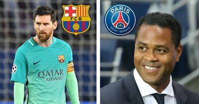 PSG zerstört Barca: Unglaublich, was Sportdirektor Kluivert danach über Messi sagte!