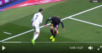 Mit diesem unglaublichen Trick zerstörte CR7 seinen Gegenspieler von Espanyol total