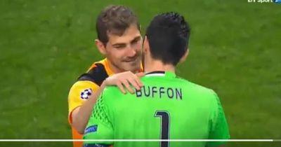 Casillas enthüllt: Das hat mir Buffon nach unserem Spiel gesagt