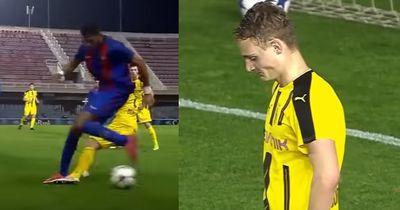 Mit seinem Solo zerstörte dieser Barca-Youngster die gesamte BVB-Abwehr!