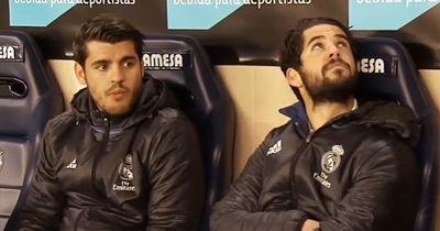 Mit diesen Worten kommentierten Isco und Morata ihre Verbannung auf die Bank