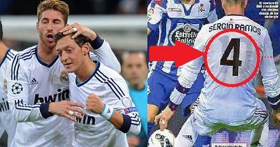 Darum spielte Ramos mit Özils Trikot unter seinem Shirt
