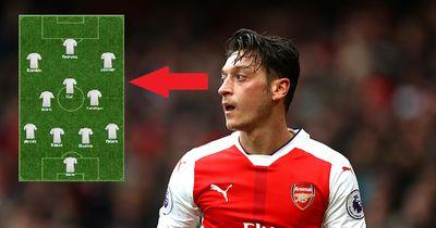 Das ist die Traumelf von Mesut Özil