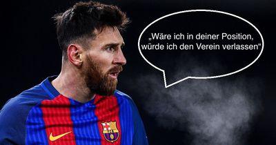 Messi rät Real-Star zu Wechsel