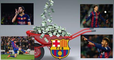 100.000 Euro dank Barca-Comeback