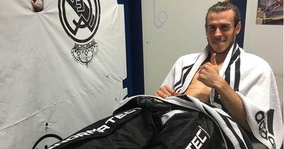 Klinik-Aufenthalt von Gareth Bale