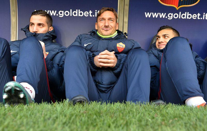 Totti verweigert seine Einwechslung