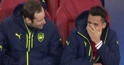 Darum lachte Sanchez nach der Bayern-Blamage auf der Arsenal-Bank