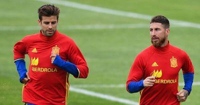 Kein Stress zwischen Pique und Ramos