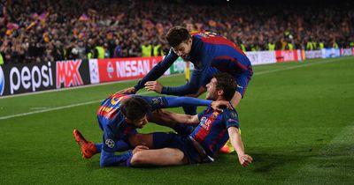 Fans des FC Barcelona lösen Naturgewalt aus