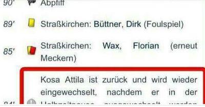 Kurioses Kreisliga-Highlight wird zum Internet-Hype