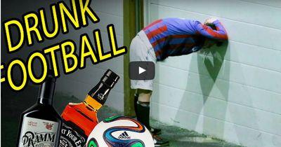 So sieht Fußball mit mindestens ein Promille aus