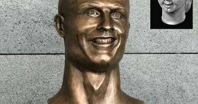 Die lustigsten Reaktionen auf Cristiano Ronaldos Statue