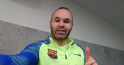 Luis Enrique spricht über Iniesta