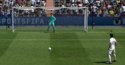 Der Messi/Suárez-Elfmeter in FIFA 17