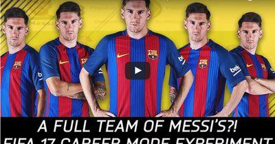 Ein Team aus Messis?