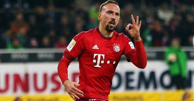 Die Entwicklung von Franck Ribéry bei FIFA